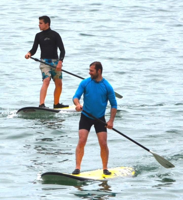stand up paddle Jérôme club canoë kayak - Neuvic