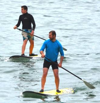 stand up paddle  club canoë kayak - Neuvic